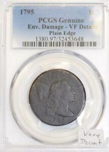 1795-Plain-Edge-Large-Cent-PCGS-VF-Details-Very-Decent