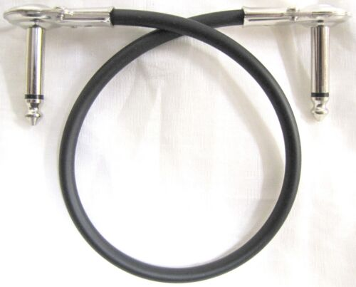 """4 New Hosa Low Profile Flat Pancake Right Angle 12/"""" Patch Cables IRG-101 1-Foot"""