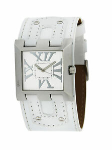 Bruno-Banani-White-Women-039-s-Watch-XT-Square-br25750-Ladies-With-Box-amp-Issues