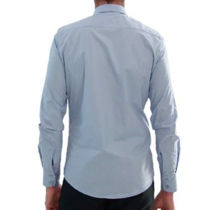 Alexander mcQueen chemise chemise poche broderie, poche brodé chemise chemise 20253d
