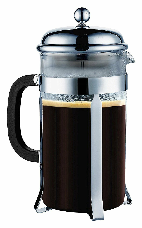 Sterlingpro french coffee press 8 Tasse (1 litres, 34 oz), chrome