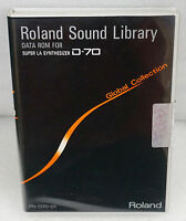 Roland PN-D70-01 Global Collection DATA ROM for D-70 Synthesizer  - Brand New -