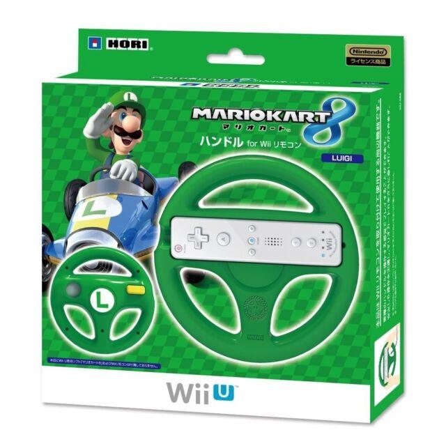 Nintendo Wii u Hori Mario Kart 8 Mango Volante Controlador Luigi JP