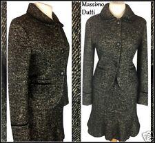 06 Massimo Dutti 12 14 Warm alpaca wool beautiful skirt suit ladies tweed