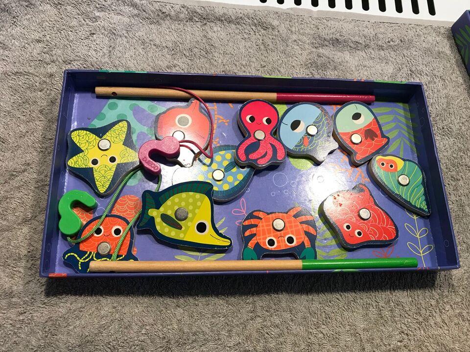 Djeco fiskespil, Fiskespil, andet spil