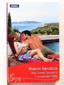 The-Greek-Tycoon-039-s-Convenient-Wife-by-Sharon-Kendrick-Mills-amp-Boon-Sexy