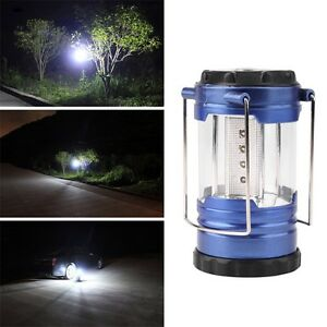 Telescopic-Camping-Lantern-Bivouac-Hiking-Light-12-LED-Portable-with-Compass-FT