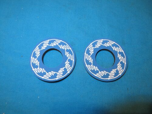 New BMX SE Racing Bicycle Grip Donuts in Blue