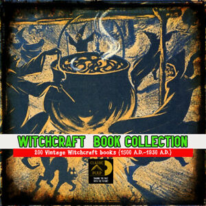 200-witchcraft-rare-books-collection-The-Ultimate-Wicca-Witchcraft-resource