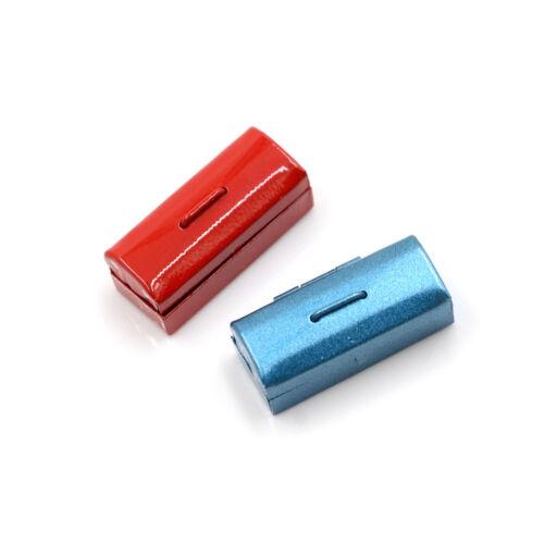 Red//Blue 1:12 Dollhouse mini boîte à outils en métal miniature
