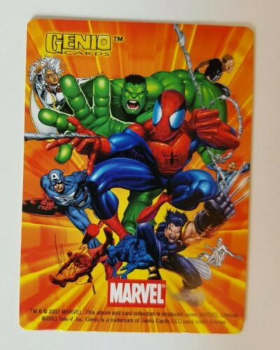 Genio, 2003 Marvel Educational Collectable Trading Card Singles #1-200