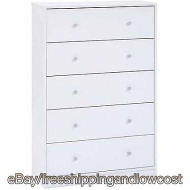 Tvilum Portland 5-Drawer Dresser