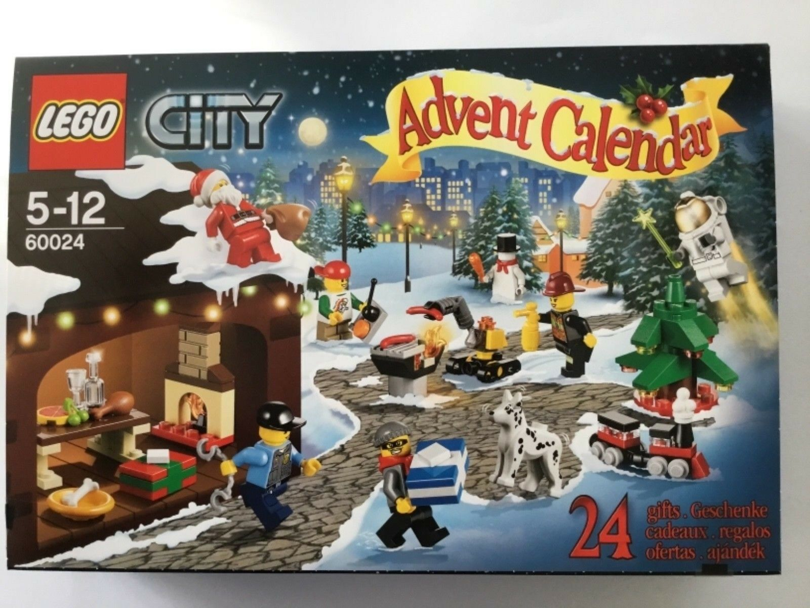 LEGO City 60024 Advent Calendario 2013-NUOVO OVP