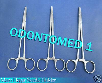 """12 Mayo Hegar Needle Holder 7"""" (Excellent Quality)"""