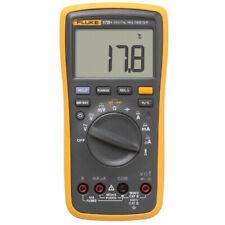Fluke 17b Plus Digital Multimeter Handheld Volt Tester Meter Test Leads Tl75