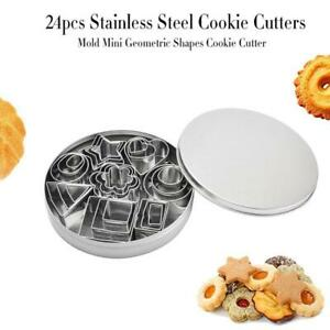 24pcs-set-Stainless-Steel-Mini-Cookie-Cutter-Set-Stainless-Steel-Biscuit-Mould