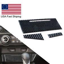 For Honda Civic Coupe 2013 2015 Carbon Fiber Central Storage Panel Trim Cover Fits 2013 Honda Civic Si