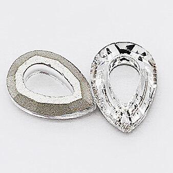 10p 7x10mm Pear Czech Crystal rhinestone Nail Art Decoration Glass pendant Beads