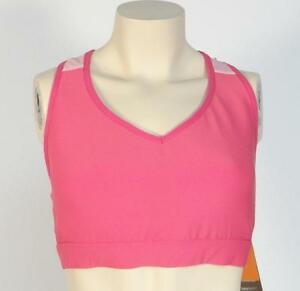 Lucy-Moisture-Wicking-LucyTech-Pink-Race-Me-Bra-II-Sports-Bra-Womans-NWT