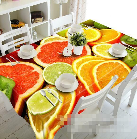 3D Fruits 779 Tablecloth Table Cover Cloth Birthday Party Event AJ WALLPAPER AU