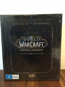 World-Of-Warcraft-Battle-for-Azeroth-Collector-039-s-Edition-PC-New-Unopened