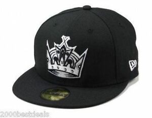 NEW-ERA-59Fifty-Fitted-Cap-Los-Angeles-Kings-Black-White-Men-Hat