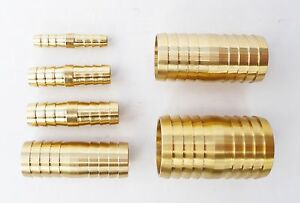 HOSE-PIPE-JOINER-Coupler-Repair-Solid-BRASS-hosetails-inline-water-6mm-to-32mm