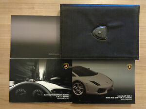 Lamborghini Gallardo Lp 560 4 Coupe Owners Handbook Manual And Pack