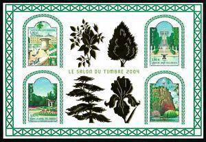 Bloc-Feuillet-2004-N-71-Timbres-France-Neufs-Le-Salon-du-Timbre-2004