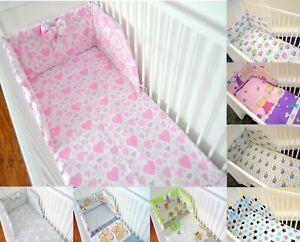 Pattern 23 Duvet /& Pillow Set Duvet Size 120x90 cm 4 Pcs Cot Bedding