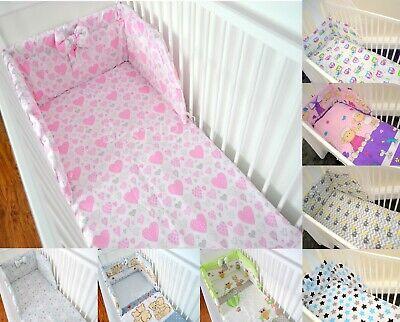 Pattern 23 3 Pcs Bedding Set 180cm Padded cot Bumper 120x60 cm