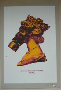 Jimmy-Cauty-039-Queen-of-Mass-Contamination-039-Signed-print-banksy-eelus-photos