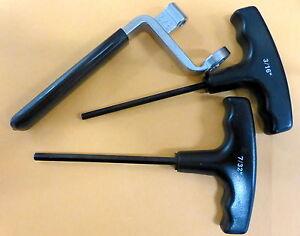 Details about Proform 66781 Valve Lash Adjusting Tool Set Wrench Nut 5/8  T-Handle 3/16 7/32
