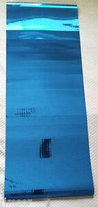 "Mirror Flex Self Adhesive Decorative Cobalt Blue Mirror Tiles 19"" x 50"" Sheet"