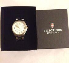 Victorinox Swiss Army Infantry Vintage Men's Steel bracelet Swiss watch 241293