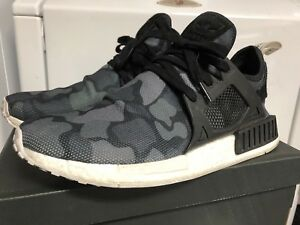 4ac291bdce1 Details about Adidas Nmd Xr1 Duck Camo Men's 10.5 Black Boost