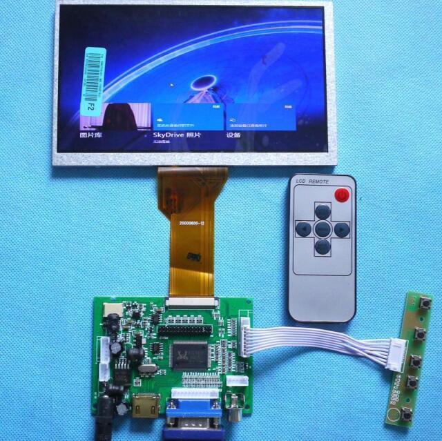 "7"" inch 50Pin LCD Display Monitor For Raspberry PI+HDMI/VGA/2AV Driver Board"