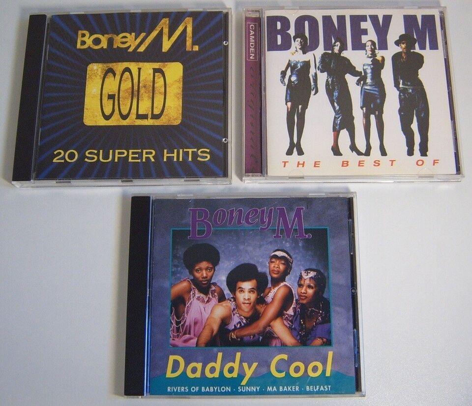 Boney M.: 3 Titler, pop