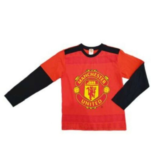 New With Tags Ages 7 To 13 Years Free P/&P Manchester UTD Official T-Shirt
