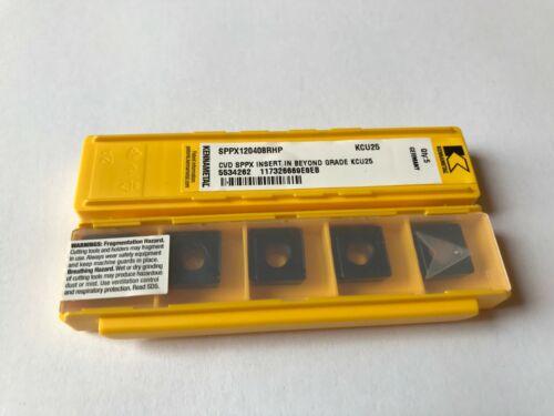 5x KENNAMETAL    Wendeplatten     SPPX 120408RHP    KCU25   NEU mit Rechnung!!!