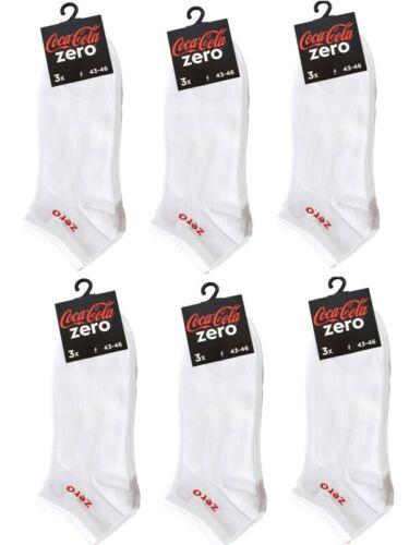 Sneakersocken 39-42 Socken 43-46 Coca Cola Zero MEGA-MIX Sportsocken