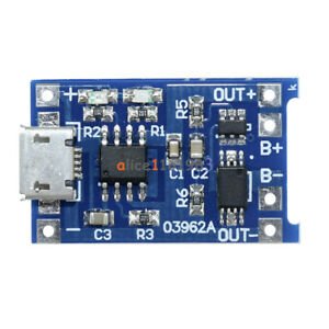 5PCS-5V-Micro-USB-1A-18650-Lithium-Battery-Charging-Board-Charger-Module