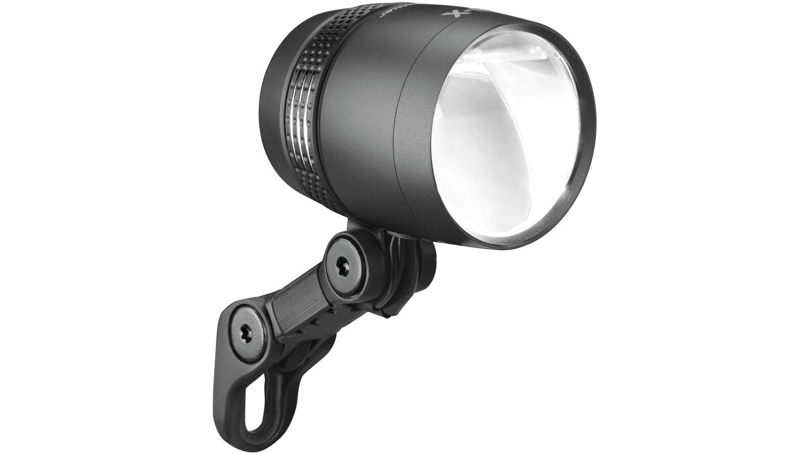 0.710.701 4 B & M LED Scheinwerfer Lumotec IQ-X 100 Lux Tagfahrlicht Sensor