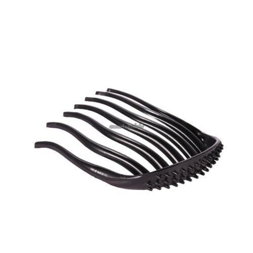 Women Vintage Style Plastic 7 Teeth Volume Insert Hair Comb Clips Hair CLSV 01