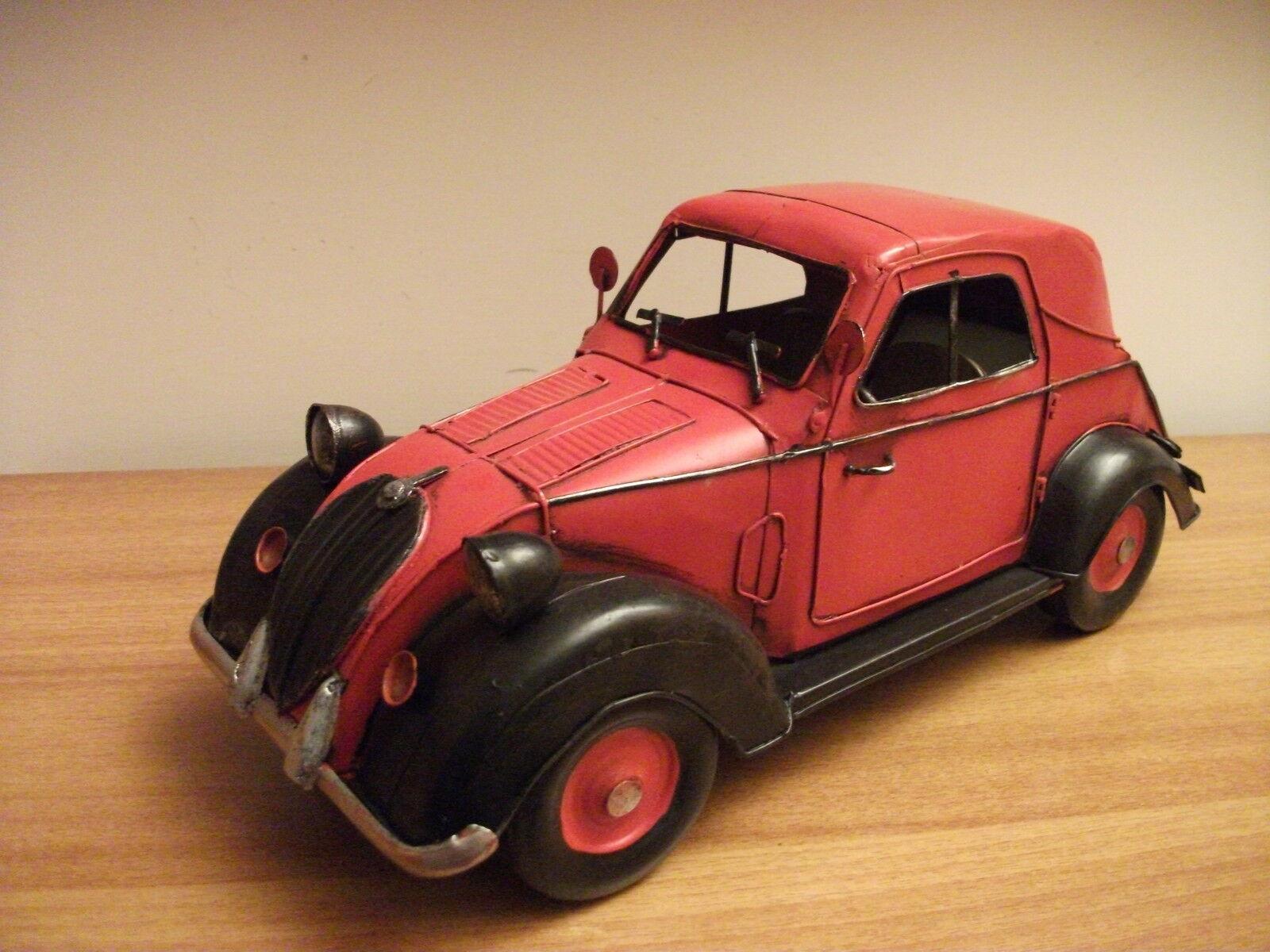 FIAT 500 A (TOPOLINO) 1936 latta-tin SCALA 1 12