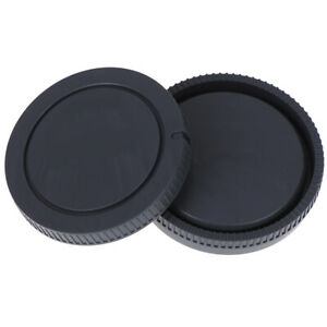 2Pcs-Micro-Camera-Rear-Lens-Cap-Body-Front-Cover-Kit-For-A3000-A5000-A5100-A6-FE