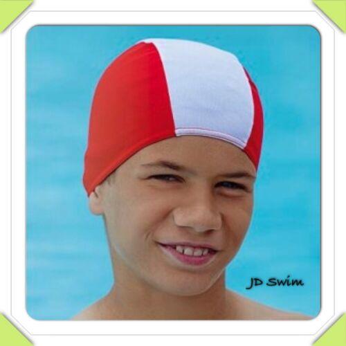 Boys Girls Children Free PP Cap In Blue,Red,Black Childs Fabric Cheap Swim Hat