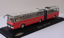 Ikarus 280T 1:72 RARE! Atlas Edition, Hungarian articulated trolleybus 1987