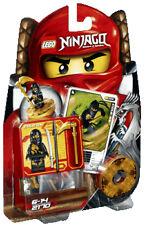 LEGO Ninjago Masters Of Spinjitzu Cole DX Mini Figure 2170 MOC 2011