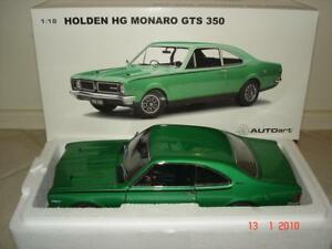 1:18 Biante Holden HG GTS 350 Monaro in Lakeside Green .